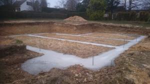 fondations coulées 2